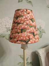 Handmade Candle Clip Lampshade  Apricot Blossom Japanese style  fabric