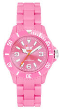 Ice-Watch Classic Unisex Solid Polyamide Unisex Pink Watch CS.PK.U.P.10