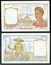 New listing French Indo-China Uncirculated 1 Piastre 1946 P-54C