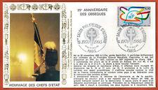 1995-France Libre-Fdc 1°Jour**Hommage des Chefs d'état-De Gaulle-Paris-Yt.2975