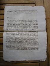 REVOLUTION / Lajonie : lettre écrite aux administrateurs des Bouches-du-Rhône