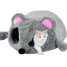Cartoon Mouse Cat Cave House Dog Pet Cushion Nest Soft Igloo Mat Sleeping Bed