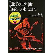 Folk Picking für Finger-Style Guitar Band 1 B-Ware