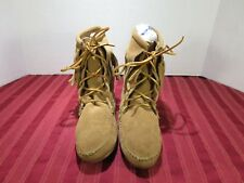 Minnetonka Moccasins 427T Brown Suede Fringed Tramper Ankle Boots Women Size 6