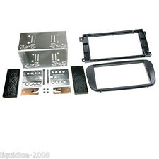 CT23FD10 FORD FOCUS 2007 to 2011 BLACK DOUBLE DIN FASCIA ADAPTER FITTING KIT