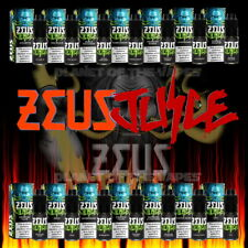 zeus juice 10ml - All Flavours - 50/50 VG/PG - Premium Vape Juice 3mg 6mg 12mg