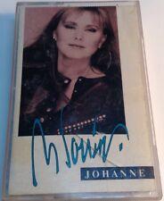 JOHANNE BLOUIN Original tape Cassette SELF TITLED ALBUM  1989 Guy Cloutier produ