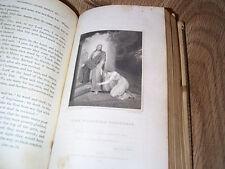 The Pilgrim's Progress by John Bunyan - Richard Westall ILLUS  HB 1820 LEATHER