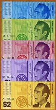 Set, Hutt River Province, 10;20;50;1;2, 1970, Unc > Australia