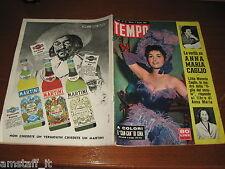 RIVISTA TEMPO 1955/22=GINA LOLLOBRIGIDA=PIETRO RONDONI=FUNIVIA MONTE BIANCO=