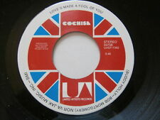 COCHISE ~ LOVE'S MADE A FOOL OF YOU ~ POP 45 (UNPLAYED STORE STOCK)