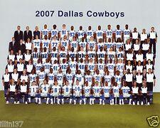 2007 DALLAS COWBOYS FOOTBALL TEAM 8X10 PHOTO PICTURE
