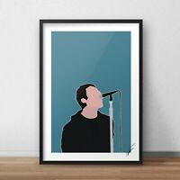 Liam Gallagher Print home gift A5 A4 A3 bedroom funny joke quote wall art