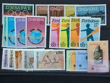 1980 - 1985 ZIMBABWE - 6 DIFFERENT SETS BETWEEN 1980 - 85 - ALL UMM - (530)