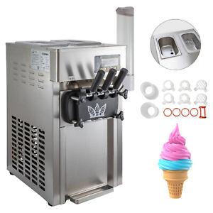 Machine à Glace Italienne Crème Glacée Molle Supermarché Surgelée 16-18L/H