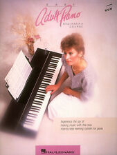 Easy Adult Piano Beginner Course Learn to Play Music Hal Leonard Lesson Book NEW