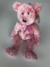 TY Beanie Babies Collection Smitten The Bear DOB February 16, 2002 MWMT