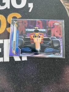 2020 Topps Chrome Formula 1 Lando Norris RC Purple Refractor /399 #27