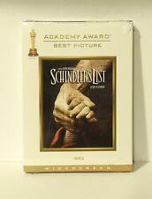 Schindler's List (DVD, Widescreen, Digipak, Canadian) with OSCAR slipcover NEW