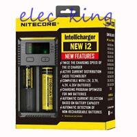 NITECORE New i2 2018 Intellicharger Vape Battery Charger / 20700 26650 18650