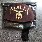 Vintage ArabiA Chapter Shriner Masonic Fez Hat Tassel Holder Ft Worth 7 1/8