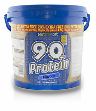 Nutrisport 90 Protein 2.5kg 20 Extra Ace Shaker Chocolate