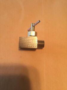 "Anderson 150 Max psi, 1/8"" Pipe Brass, Inline Instrumentation Needle Valve 6MN31"