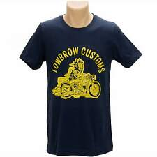 Lowbrow Customs Happy Devil T-Shirt Triumph bobber chopper cafe racer