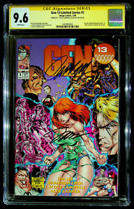 Gen 13 Limited Series #1 – CGC SS 9.6 – signed by J Scott Campbell and Jim Lee