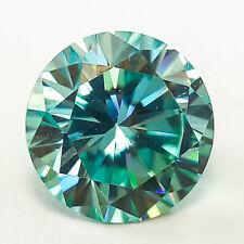3.58 CTS 9MM VVS2 VG ROUND FANCY BLUE LAB CERTIFIED LOOSE DIAMOND