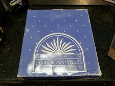 Avon American Blue Classic Collections- Dinner Plates- One Pair
