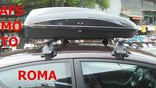 BOX AUTO PORTATUTTO G3 HELIOS 320 NERO+BARRE PORTATUTTO FORD FIESTA 3 P.2013