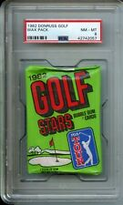 1982 Donruss Golf Wax Pack PSA 8 Fred Couples Rookie Jack Nicklaus Possible
