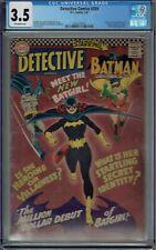 CGC 3.5 DETECTIVE COMICS #359 1ST APPEARANCE BATGIRL BATMAN OFF-WHITE PAGES