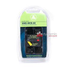 JL AUDIO XMD-MCB-60 Marine Waterproof Ignition Power Fuse Circuit Breaker 60 Amp