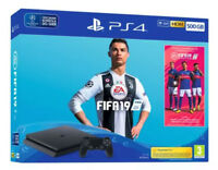 Sony PlayStation 4 500GB Jet Black Console - New Sealed