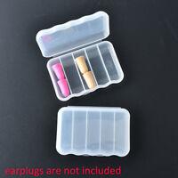 mini clear plastic small box storage box case container for hook earplug FO