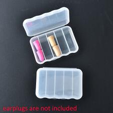 mini boîte en plastique transparente boîte rangement boîte cas pour crochet IU
