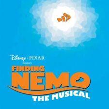 CD FINDING NEMO THE MUSICAL DISNEY PIXAR ~ VERY RARE!! NR MINT!! 2007 US CAST