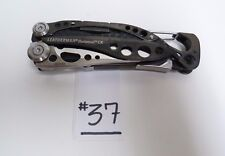 LEATHERMAN SKELETOOL CX BLACK FOLDING POCKET MULTI TOOL KNIFE PRE OWNED -B19#37