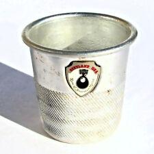 "Opryland USA Souvenir Thimble Aluminum Jigger Shot Glass ""Only a Thimble Full"""