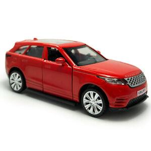1:42 Land Rover Range Rover Velar SUV Model Car Diecast Toy Pull Back Red Kids