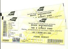 Bruce Springsteen Paris tickets 2007