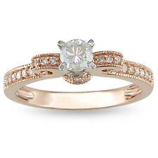 Diamond Rose Gold 14k Engagement Rings