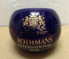 ROTHMANS INTERNATIONAL 100 Cigarettes Genuine Stoneware Ashtray