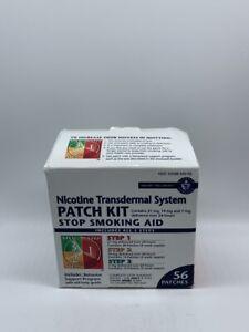 Habitrol Nicotine Transdermal System Smoking Patch Step 1 2 3 Patches 56 11/2020