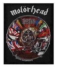 MOTORHEAD - 1916 LOGO - WOVEN PATCH - BRAND NEW - MUSIC 2488