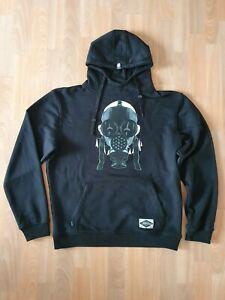 Joker Brand Hoodie Gr. XL Gas Mask Schwarz Hoody Hip Hop Cypress Hill Eminem