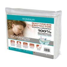 SOMNUS Sleep Comfort Series Mattress Protector, King, Bed Liner, Waterproof