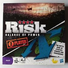 Risk: Balance of Power - Board Game - 2 Player - Excellent - Hasbro - 2009